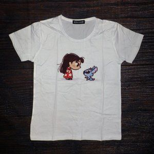 Lilo & Stitch Girls Short Sleeve Shirt